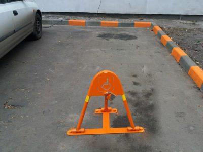 Парковочный барьер заказать