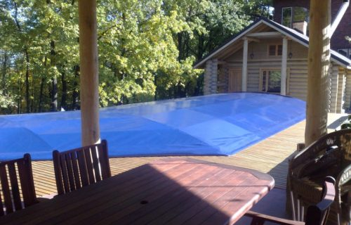 Накрытие для надувного бассейна