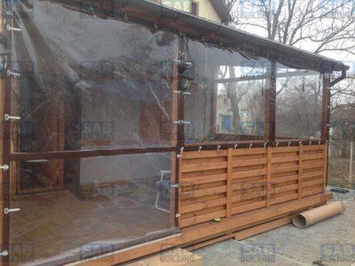 Прозрачные шторы из ПВХ в Харькове
