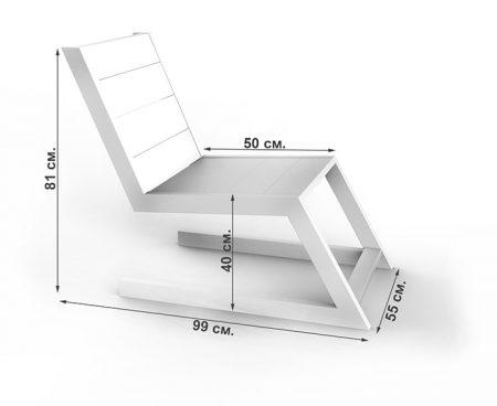 Кресло в стиле лофт технические характеристики