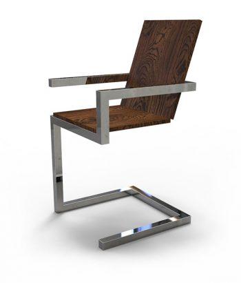 Кресло лофт из нержавеющей стали