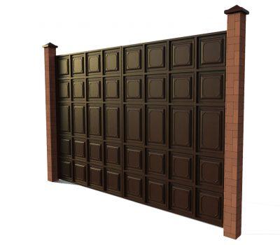 Ворота шоколадка