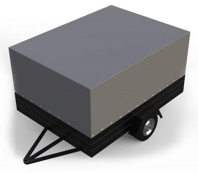 Изготовление тентов для прицепов легковых автомобилей