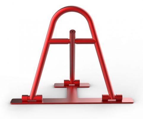 Парковочный барьер на шестигранном ключе
