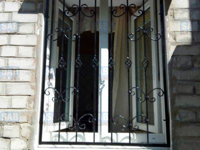 заказать кованые решетки на окна